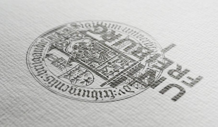 Weigel GmbH - Papier mit UNI Freiburg Logo