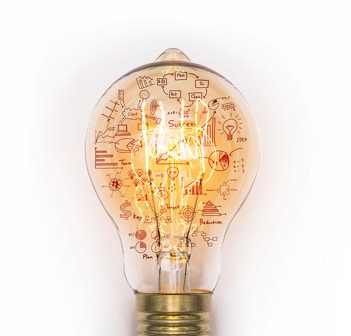 Weigel GmbH - Unternehmen: Glühbirne